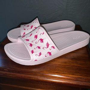 Flamingo Croc Sandals